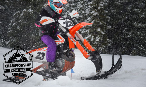 Tina Weis - Demonstrating that Snow Bike Racing is Inviting to Women